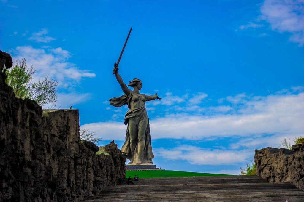 statue of The Motherland Call